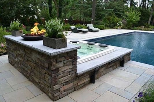 Show Off Your Spa In Style With Sleek, Natural-Looking Stone